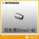 ミヤナガ ホールソー378/ポリクリックシリーズ カッター (PC378042C)
