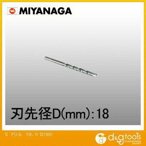 ミヤナガ コンクリート用振動ドリルS S180