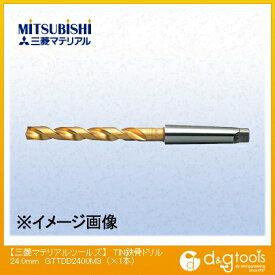 三菱マテリアル TIN鉄骨ドリル 24.0mm GTTDD2400M3 1 本