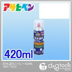 アサヒペン 防水塗料スプレー (透明)クリア 420ml