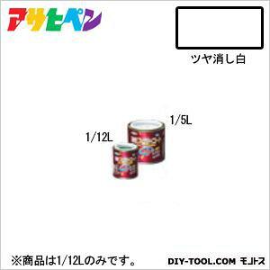 アサヒペン 油性スーパーコート ツヤ消し白 1/12L 塗料 ペンキ 油性 油性塗料 油性ペンキ ペンキ塗料