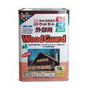 アサヒペン 油性ウッドガード外部用 ライトオーク02 14L アサヒペン 防虫 防腐塗料 ペンキ