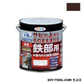 アサヒペン 油性高耐久鉄部用塗料 ミルキーホワイト 3L
