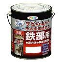 アサヒペン 油性高耐久鉄部用塗料 グレー 3L