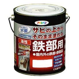 アサヒペン 油性高耐久鉄部用塗料 グレー 3L 1個