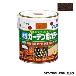 アサヒペン水性ガーデン用カラー木部用塗料ダークオーク1.6L