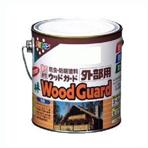 アサヒペン 油性ウッドガード外部用 ブラック04 0.7L