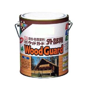 アサヒペン 油性ウッドガード外部用 パイン15 1.6L