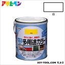 アサヒペン 水性多用途カラー 白 1.6L asahipen 塗料 水性塗料