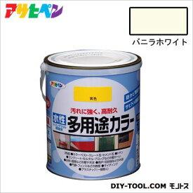 アサヒペン 水性多用途カラー バニラホワイト 1.6L