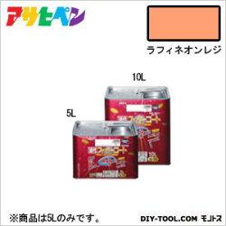 アサヒペン油性スーパーコートラフィネオレンジ5L塗料ペンキ油性油性塗料油性ペンキペンキ塗料