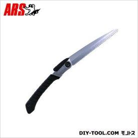 アルス 大工用鋸(ノコ)ニュー豪傑24(替刃式)折込鋸 ブラック X-24