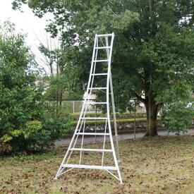 アルミ製園芸三脚 シルバー 天板高さ:2.90m (KWX300)
