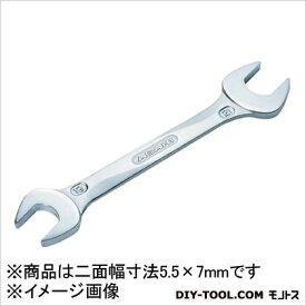旭金属工業 REVOWAVE やり形両スパナ 5.5mm×7mm (SL0507)