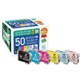エコリカ リサイクルインク 6色パック (ECI-E506P/BOX)  文具・OA機器 文具・事務用品
