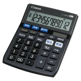 キヤノン 電卓 商売計算シリーズ 12桁 (LS-122TSG)  文具・OA機器 文具・事務用品