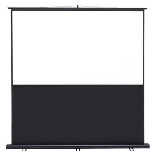 サンワサプライ プロジェクタースクリーン(床置き式) (PRS-Y70HD)  文具・OA機器 文具・事務用品