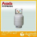 アサダ 一般フロン回収ボンベ フロートセンサーなし 無記名 24L (TF080)