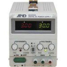 A&D 直流安定化電源トラッキング動作可能LEDデジタル表示 374 x 187 x 220 mm AD8735D 1台