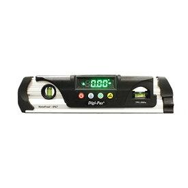 Digi-Pas KOD 防水型 デジタル水平器 シルバー×ブラック 230mm DWL-280Pro 水準器