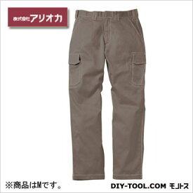 アリオカ 溶接・ 造船 作業着(作業服) 防炎カーゴパンツ グレー M (MD2060)