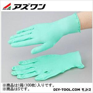アズワン ネオプレンゴム手袋 S (1-2578-02) 1箱(100枚入)