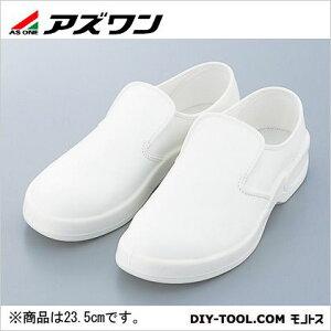 アズワン ゴールドウイン静電安全靴クリーンシューズホワイト23.5cm 380 x 282 x 175 mm PA9880-W-23.5 1足