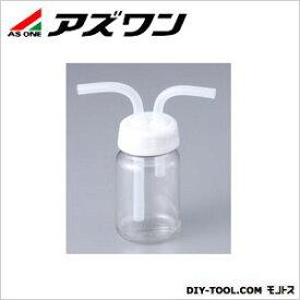 アズワン ガス洗浄瓶 広口タイプ (PC) 100ml 1-7404-01 1 個