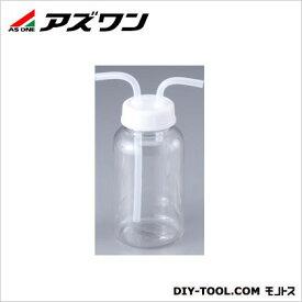 アズワン ガス洗浄瓶 広口タイプ (PC) 500ml 6-129-02 1 個
