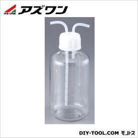 アズワン ガス洗浄瓶(PC製) 細口タイプ 2000ml 1-7404-02 1 個