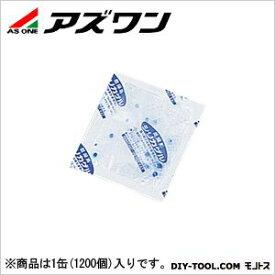 アズワン 防塵型シリカゲル(乾燥剤) 56×70mm 1-5451-01 1缶(1200個入)