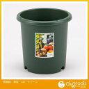アップルウェアー 野菜鉢 17L グリーン (深型 330)