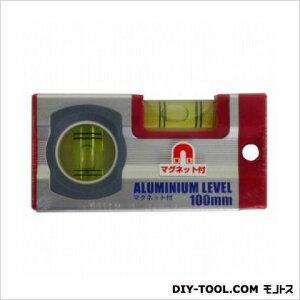 ARC アルミ水平器 マグネット付 100mm 水平器 水平 水平機