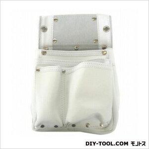 こま 白エバ-スキン 釘袋2段マチ付 白 (KK-40)