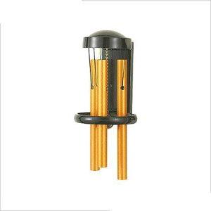 アイワ金属(AIWA) パイプチャイム引き戸兼用タイプドアベル ゴールド AP-021K 1個