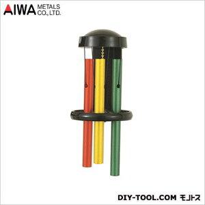 アイワ金属(AIWA) パイプチャイム引き戸兼用タイプドアベル W80×D100×H190ミリ ラスタ AP-021L