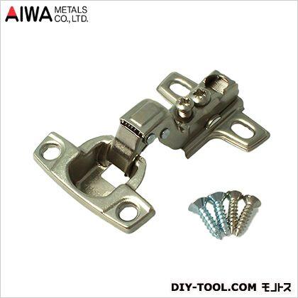 アイワ金属/AIWA ヘティヒスライド蝶番(丁番) インセット キャッチ付 26mm AP-1029N