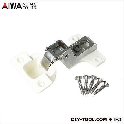 アイワ金属/AIWA スライド蝶番(丁番)インセット キャッチ無 26mm (AP-1026W)