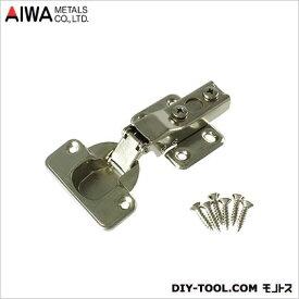 アイワ金属(AIWA) スライド蝶番(丁番)全かぶせキャッチ付 35mm AP-1031C 1点