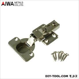 アイワ金属(AIWA) スライド蝶番(丁番)全かぶせキャッチ無 35mm AP-1032C
