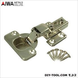 アイワ金属(AIWA) スライド蝶番(丁番)半かぶせキャッチ無 35mm AP-1034C