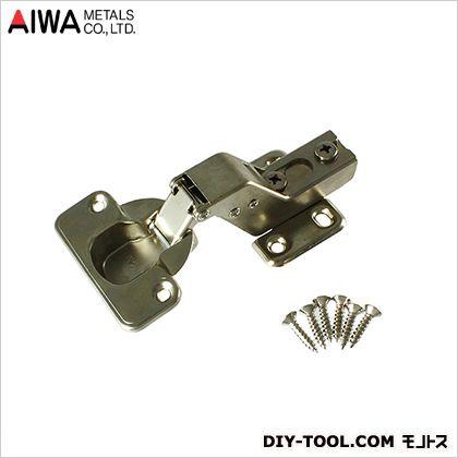 アイワ金属/AIWA スライド蝶番(丁番) インセット キャッチ付 35mm (AP-1035C)