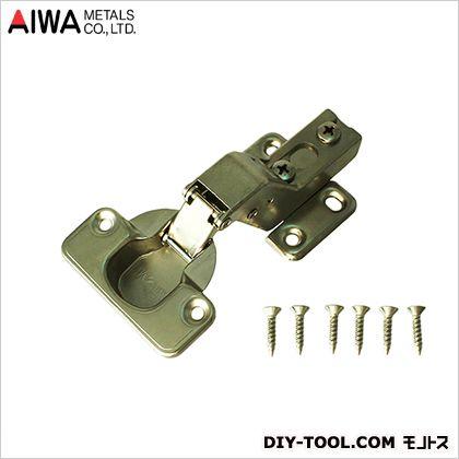 アイワ金属/AIWA スライド蝶番(丁番) インセット キャッチ無 35mm (AP-1036C)