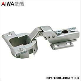 アイワ金属(AIWA) スライド蝶番(丁番)半かぶせキャッチ付 40mm AP-1043N