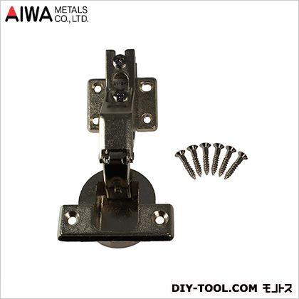 アイワ金属/AIWA スライド蝶番(丁番) インセット キャッチ無 40mm (AP-1046N)