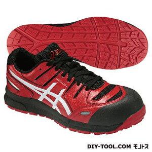 アシックス ウィンジョブ CP103 作業用靴 レッド×ホワイト 29cm FCP103.2301 29.0