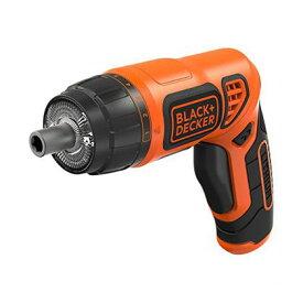 ブラック&デッカー LEDツイストドライバー ブラック×オレンジ (PLR3602)