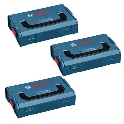 ボッシュ エルボックスミニ D155×W266×H63mm(1個あたり) (L-BOXX-MINI3) 3個セット