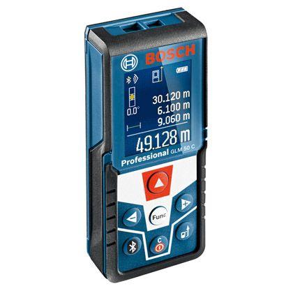 ボッシュ データ転送レーザー距離計 ●サイズ(mm):(H)111×(W)51×(D)30 GLM50C bosch