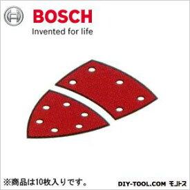 ボッシュ サンディングペーパー:マジック式(吸じん用穴あき)赤:軟硬木材・金属用フルセット#18010枚入り 2608607410